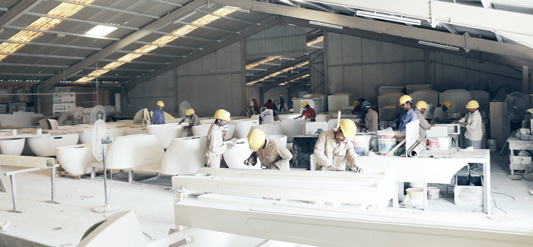 Speed House Group Glass Reinforced Plastic Factory