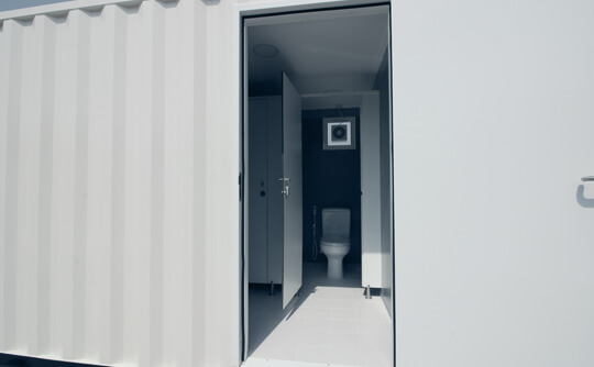 Container Toilets/Bathrooms