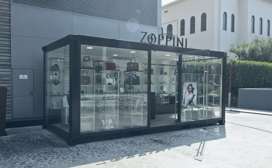 Container POP UP stores