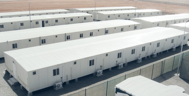 Prefabricated Military Defence Camps