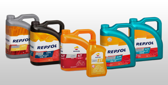 Repsol lubricants for cars